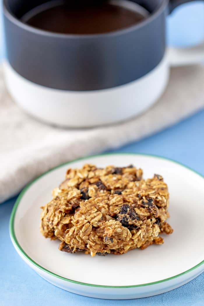 Fig breakfast cookies are hearty and healthy, so you can feel good about giving them to your kids.