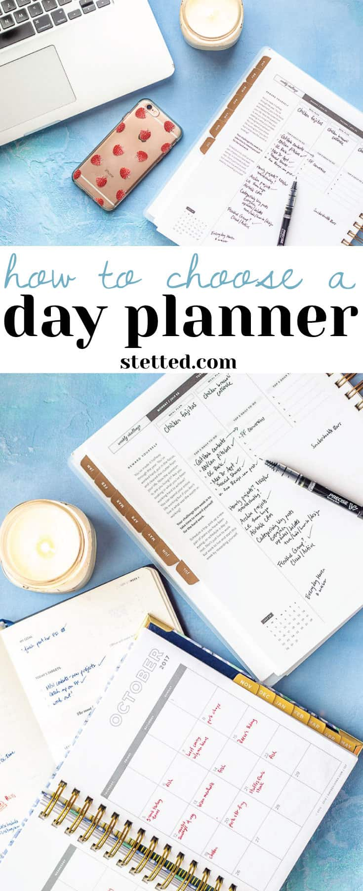 Confused about planners? Here's how to choose a day planner that works for your lifestyle.