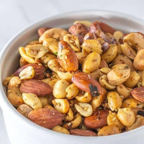 Furikake roasted nuts