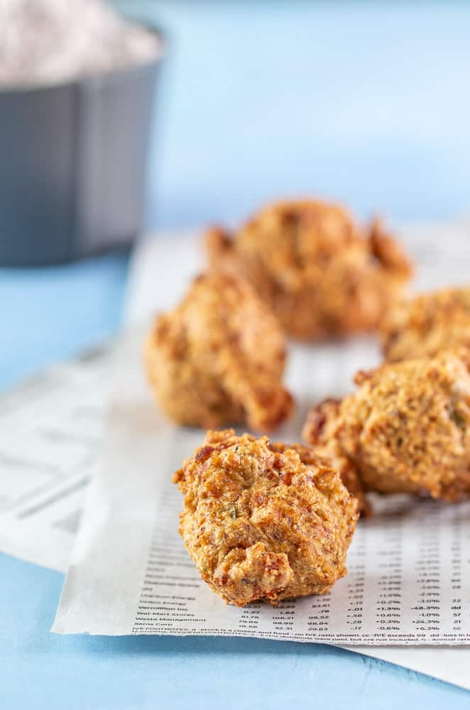 Shrimp hush puppies image
