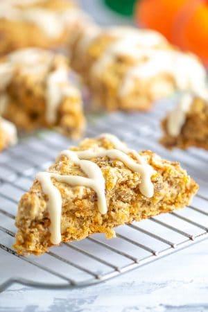 Carrot cake scone
