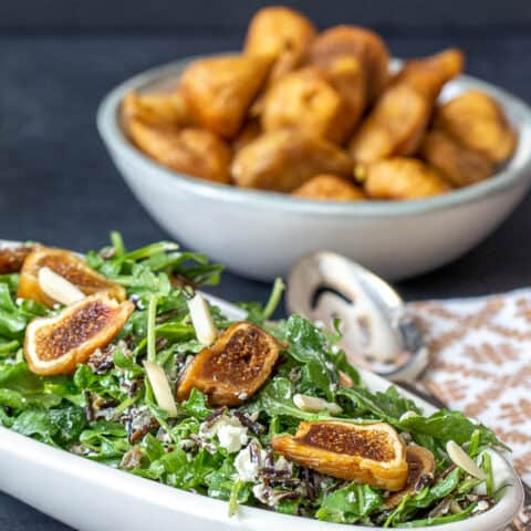 Fig Wild Rice Salad