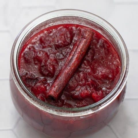 Easy Cranberry Sauce