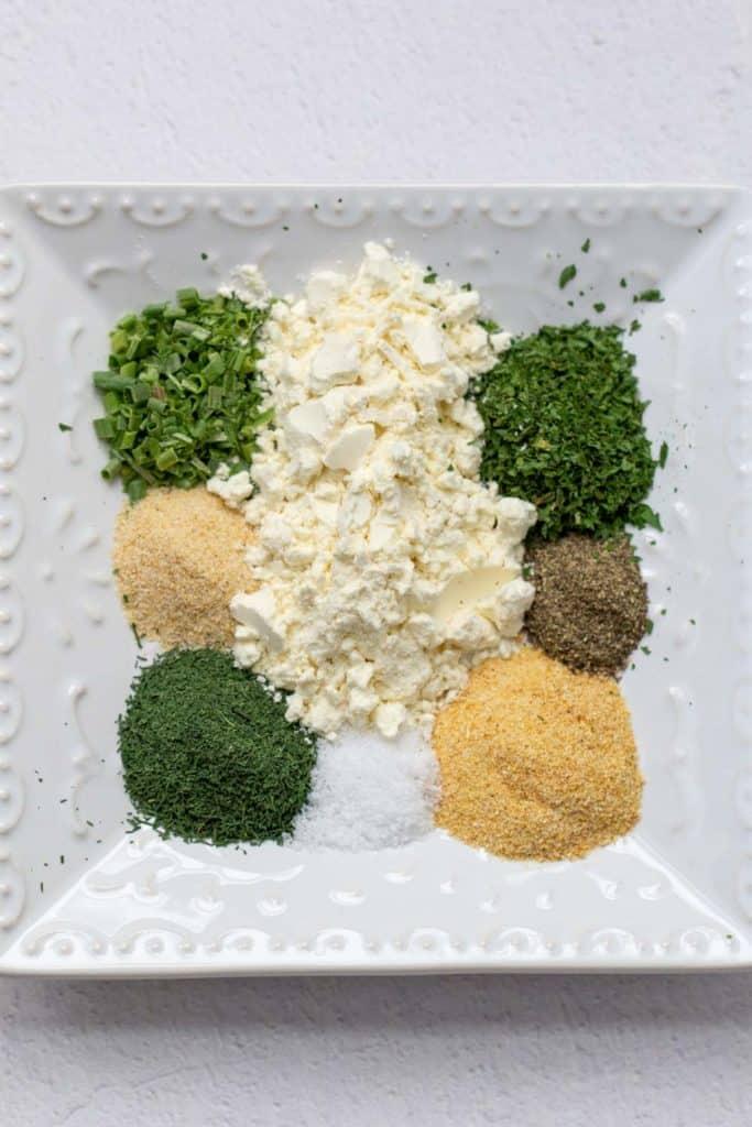 ingredients for homemade ranch seasoning
